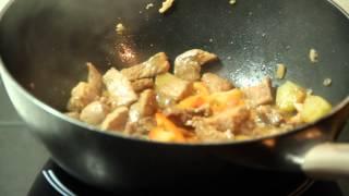 Свинина Гу Лао Жоу. Китайская еда видео рецепты