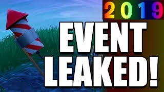 *LEAKED* FREE NEW YEARS EVENT FORTNITE REWARDS & GIFTS! ENTIRE Fortnite New Years Eve Event LEAKED!