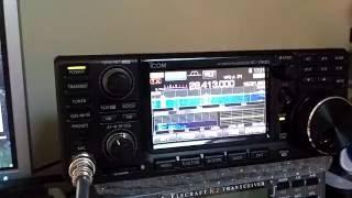yaesu ftdx 3000 vs icom 7300 ssb nr e dnr 1 test iw2noy