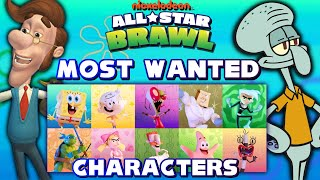 TOP 10 MOST WANTED CHARACTERS