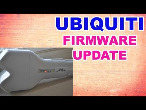 how to update firmware ubnt - YouTube
