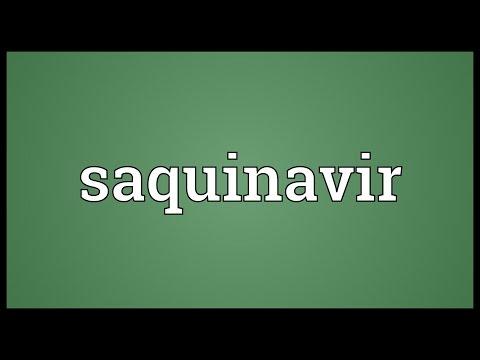 Saquinavir Meaning