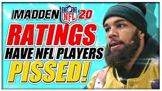 NFL Players PISSED at Madden 20 Ratings!