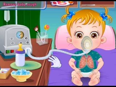 Baby Hazel Sick- Movie Time Baby Games