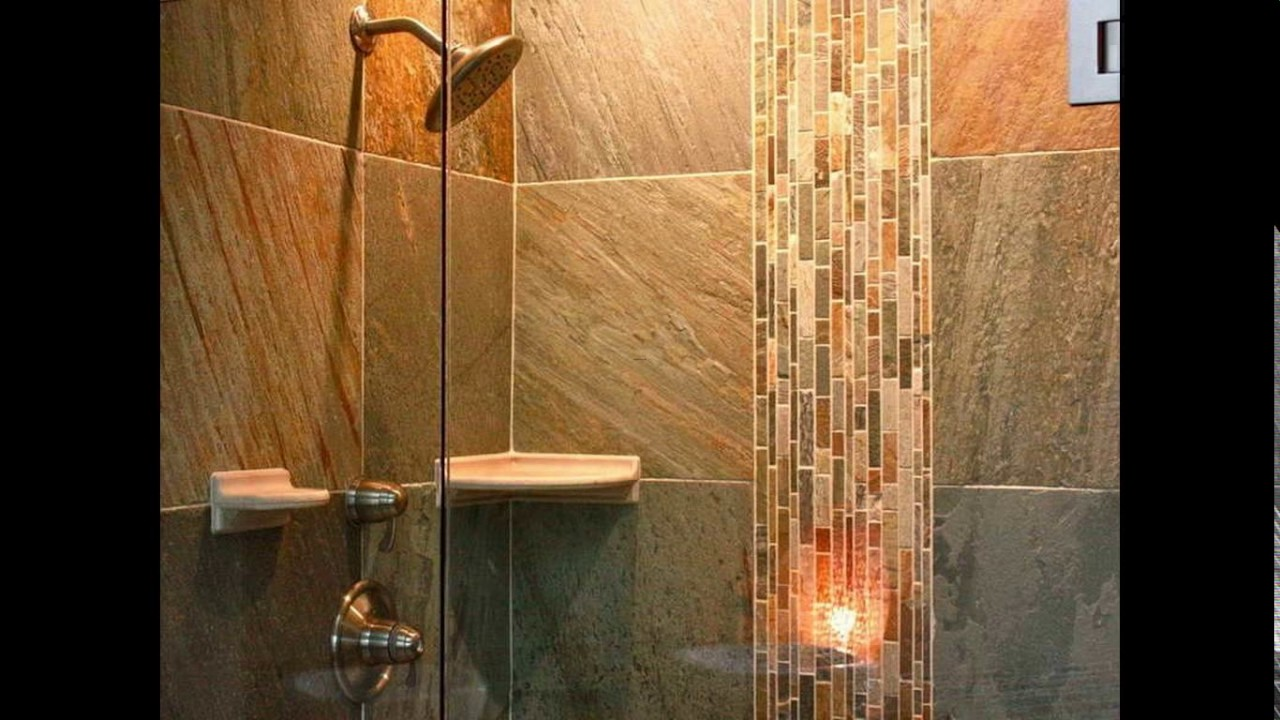 bathroom shower stall tile designs youtube