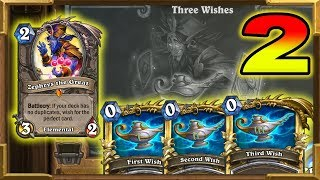 Hearthstone: This Deck Has x3 Zephrys ! Three Wishes Part 2 | Tavern Brawl | Saviors Of Uldum