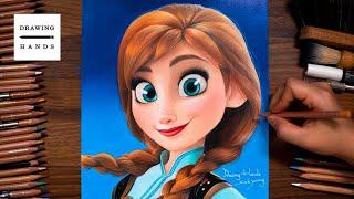Drawing Disney Princess - Anna…