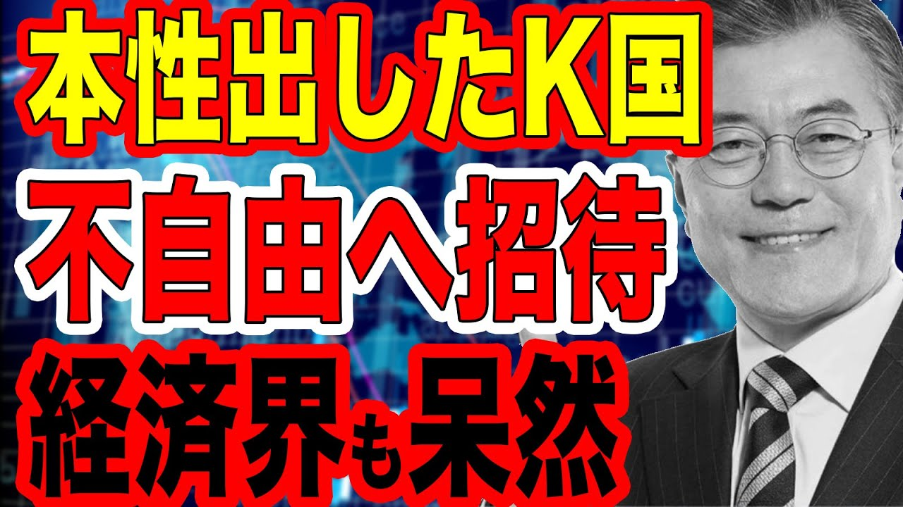 韓国 崩壊 ニュース youtube