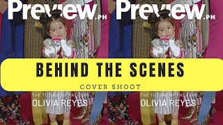 BTS of Olivia's Preview's Cover Shoot Andi Manzano Reyes