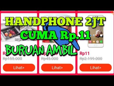 Wow handphone Rp11 dari lazada Mp3