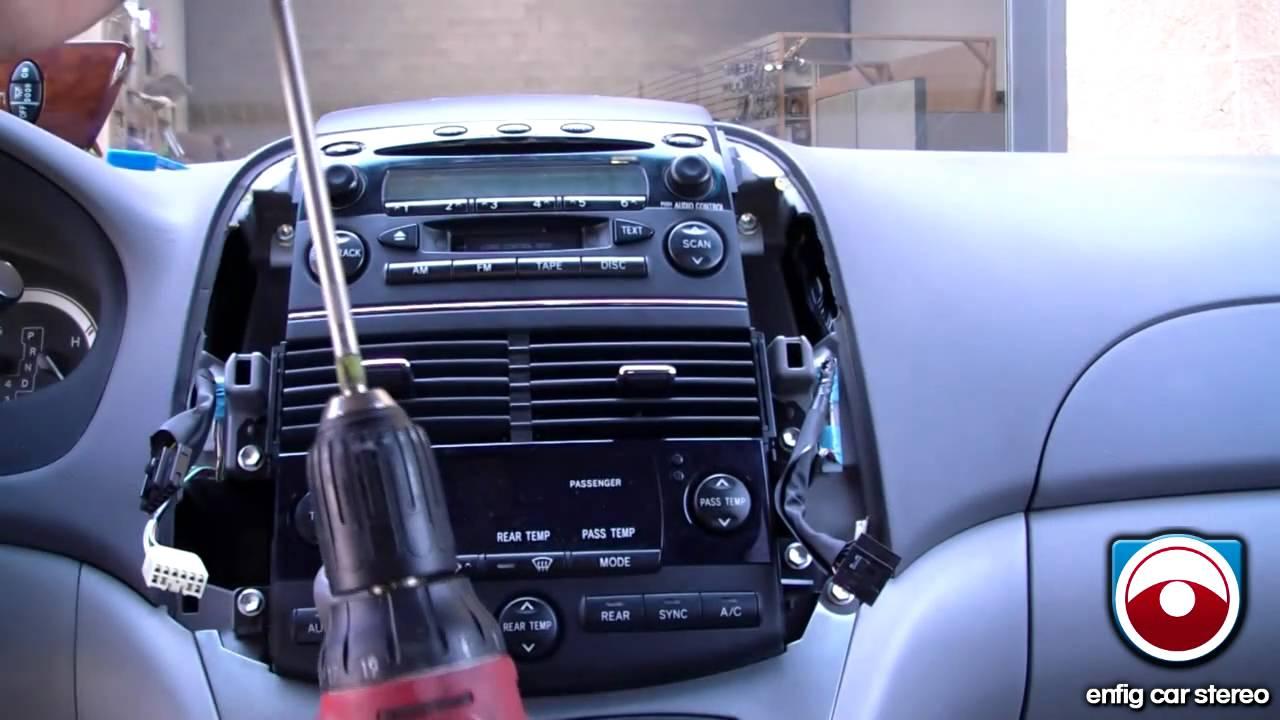 iPod iPhone or Aux Install 20042008 Toyota Sienna  BlitzSafe TOYAUX DMX V2  YouTube