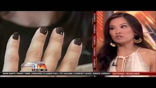 Dr. Sandra Lee Discusses the Dangers of Gel Manicures on KTTV  (03/07/13)