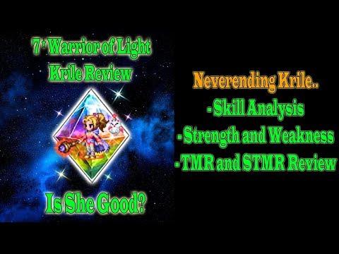 FFBE 7 Stars Warrior Of Light Krile Review: Neverending Krile (#867)
