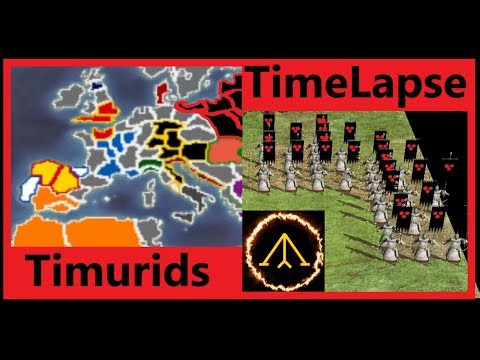 Timurid Invasion: Turn 1- Total War TimeLapse |