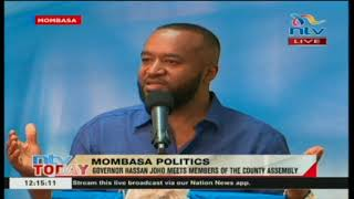 Governor Joho makes moving speech as he fights to win back coast block