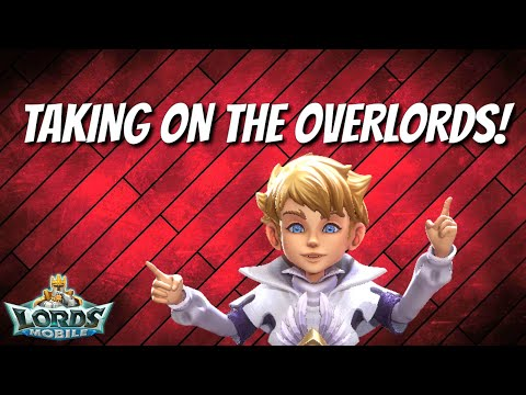 Fighting Against The Overlords! - Lords Mobile