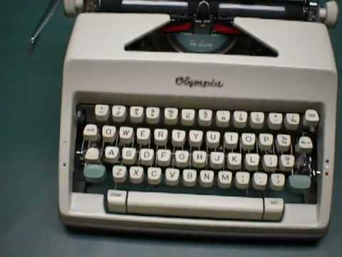 sold olympia sm9 portable manual typewriter for sale on ebay rh youtube com manual typewriter price in pakistan olympia manual typewriter price