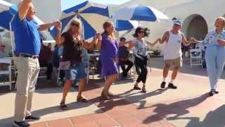 Cardiff By The Sea Greek Festival ~ 2014, Tsamiko by Dromia!!