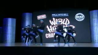 2018  World Hip Hop Dance Championship Finals - Freshh2 (Canada) BRONZE
