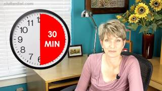 How To Get Organized In 30 Seconds... Or 1 Minute... Or 5 | Clutter Video Tip