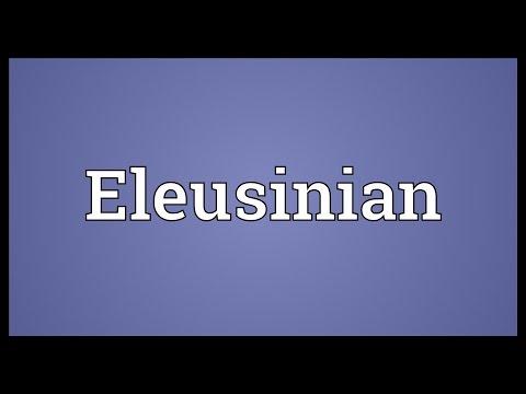 Header of Eleusinian