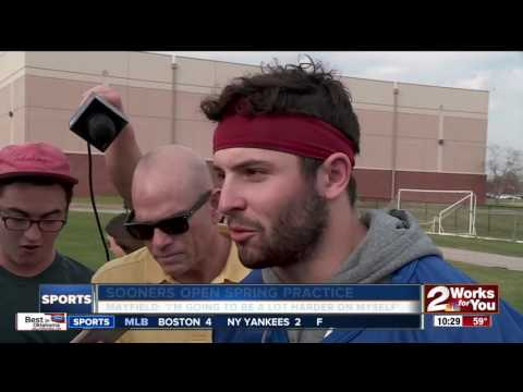 Baker Mayfield addresses media for first time since arrest in Arkansas