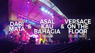 Dari Mata & Asal Kau Bahagia & Versace on The Floor - Live in Gresik (Performance by Desmond Amos)