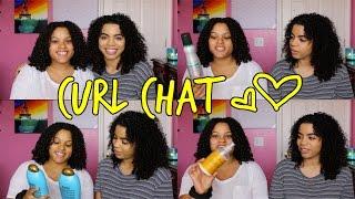 Curl Chat: Hair Routine, Loving Your Hair, & Keratin Treatment | Natural Curly Hair