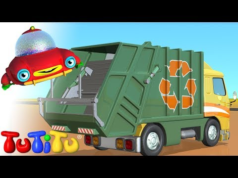 TuTiTu Garbage Truck Travel Video