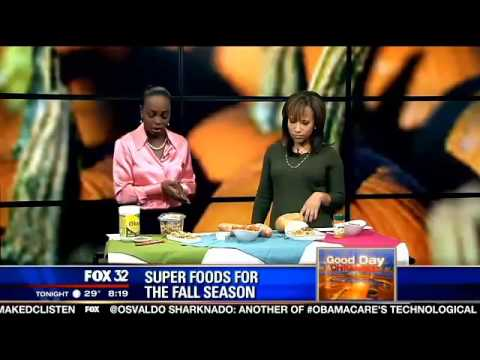 Baked sweet potato fries  Rochelle Trotter fall superfood recipe   Chicago News and Weather FOX 32 N