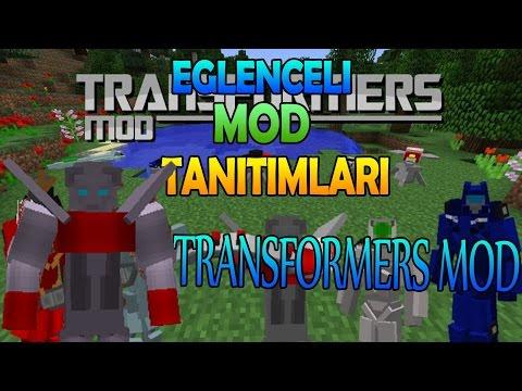 minecraft  eğlenceli mod tanıtımı  transformers modu  yeni transformers ve güncellemeler