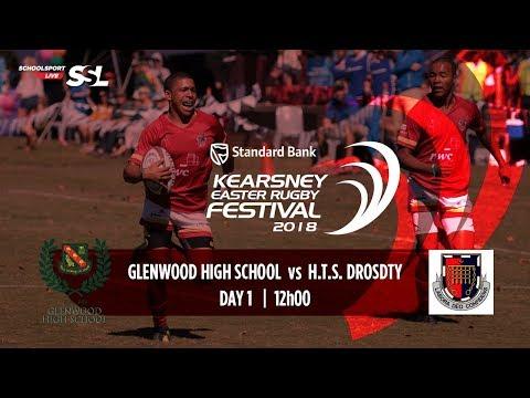 KERF - Glenwood High XV vs HTS Drostdy XV, 29 March 2018