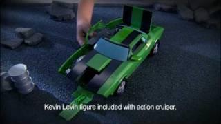 Ben 10 Alien Force: Kevin Levin's Action Cruiser