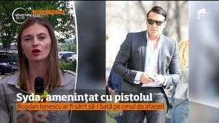 Fostul ginere al lui Traian Băsescu, amenințat cu pistolul!