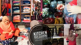 VLOG | Kitchen Deep Cleaning | Cupboard Organization | Ramdan Special |TasteTours by Shabnahasker