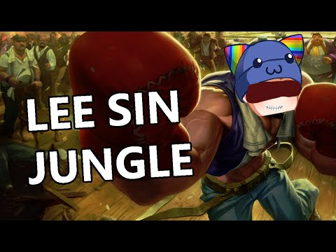 League of Legends - Knockout Lee Sin Jungle - Full Gameplay Commentary