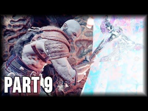 God of War - 100% Walkthrough Part 9 [PS4] –The Light of Alfheim (2/3)