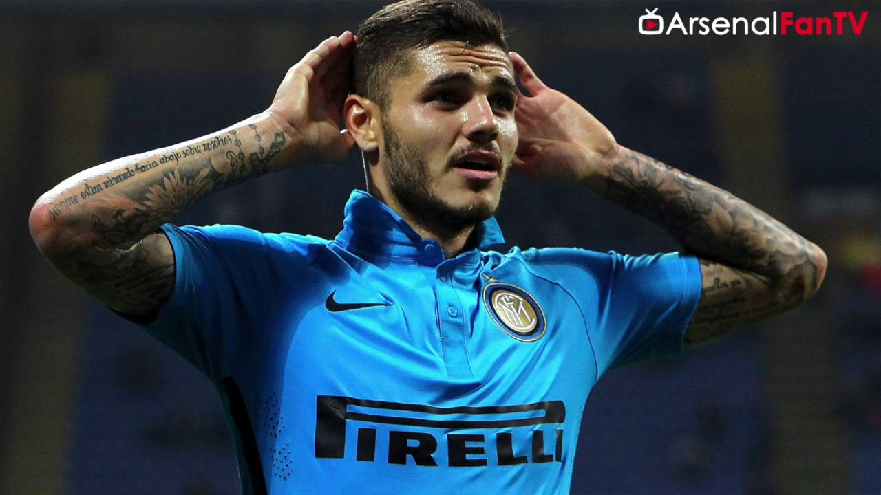 Arsenal Eye Mauro Icardi After Vardy Rejection