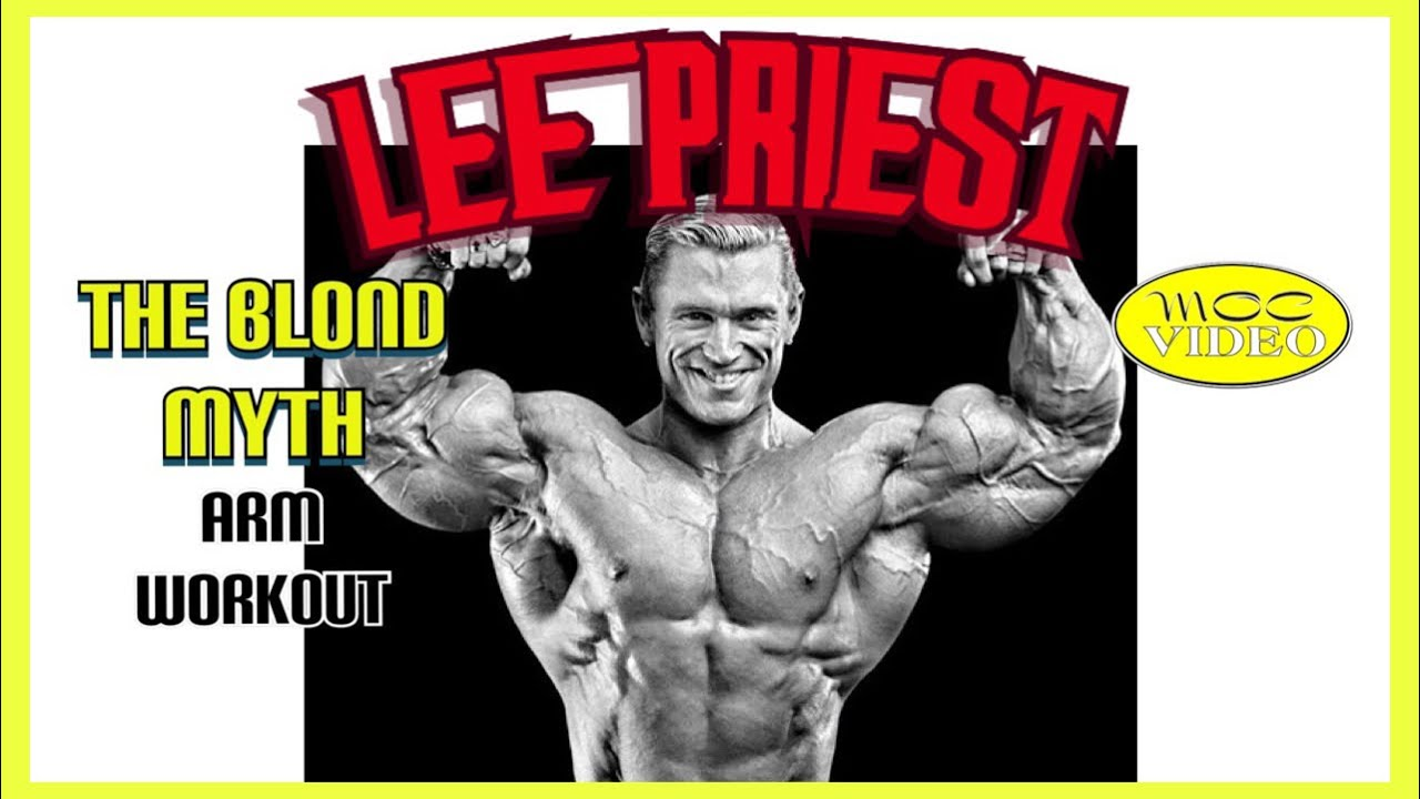 Download Lee Priest - ARM WORKOUT