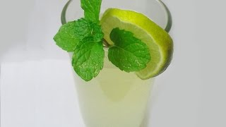 Home Made Lemon Mint Ginger Drink,healthy Juice