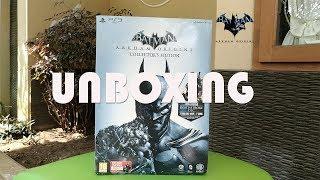 [Unboxing] Batman Arkham Origins Collector