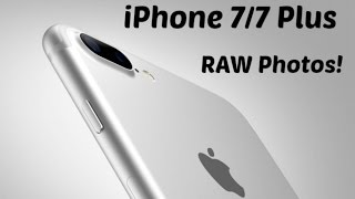 How To Shoot RAW Photos With iPhone 7/7 Plus & iPhone 8/8 Plus