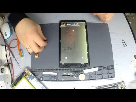 Huawei MediaPad T3 - Замена дисплейного модуля.