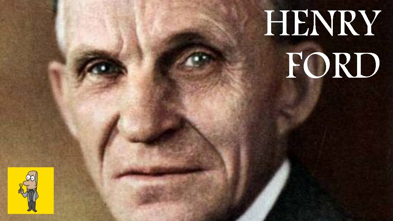 a biography of henry ford the founder of the ford company