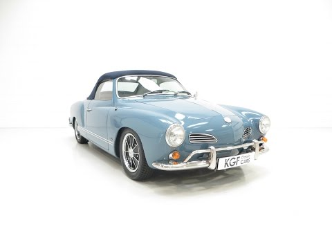 A Pristine 1966 Volkswagen Karmann Ghia Convertible Absolutely Enthusiast Owned - SOLD!