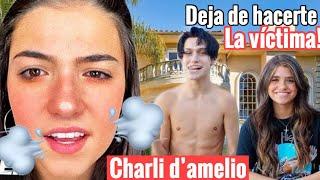 Charli D'amelio le responde a Lil huddy la infidelidad de Nessa