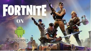 Fortnite on android FREE! (No verification!)