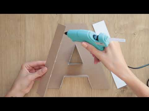 ★ 3D letter DIY | how to make a paper letter room decor DIY | origami