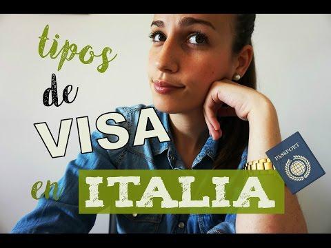 TIPOS DE VISA PARA ENTRAR EN ITALIA/ TIPOS DE VISADO