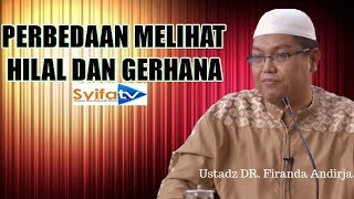 Perbedaan Melihat Hilal dan Gerhana - Ustadz Firanda Andirja,MA. 2017 Video